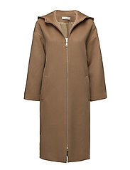 ÁERON - Long Hooded Parka Coat