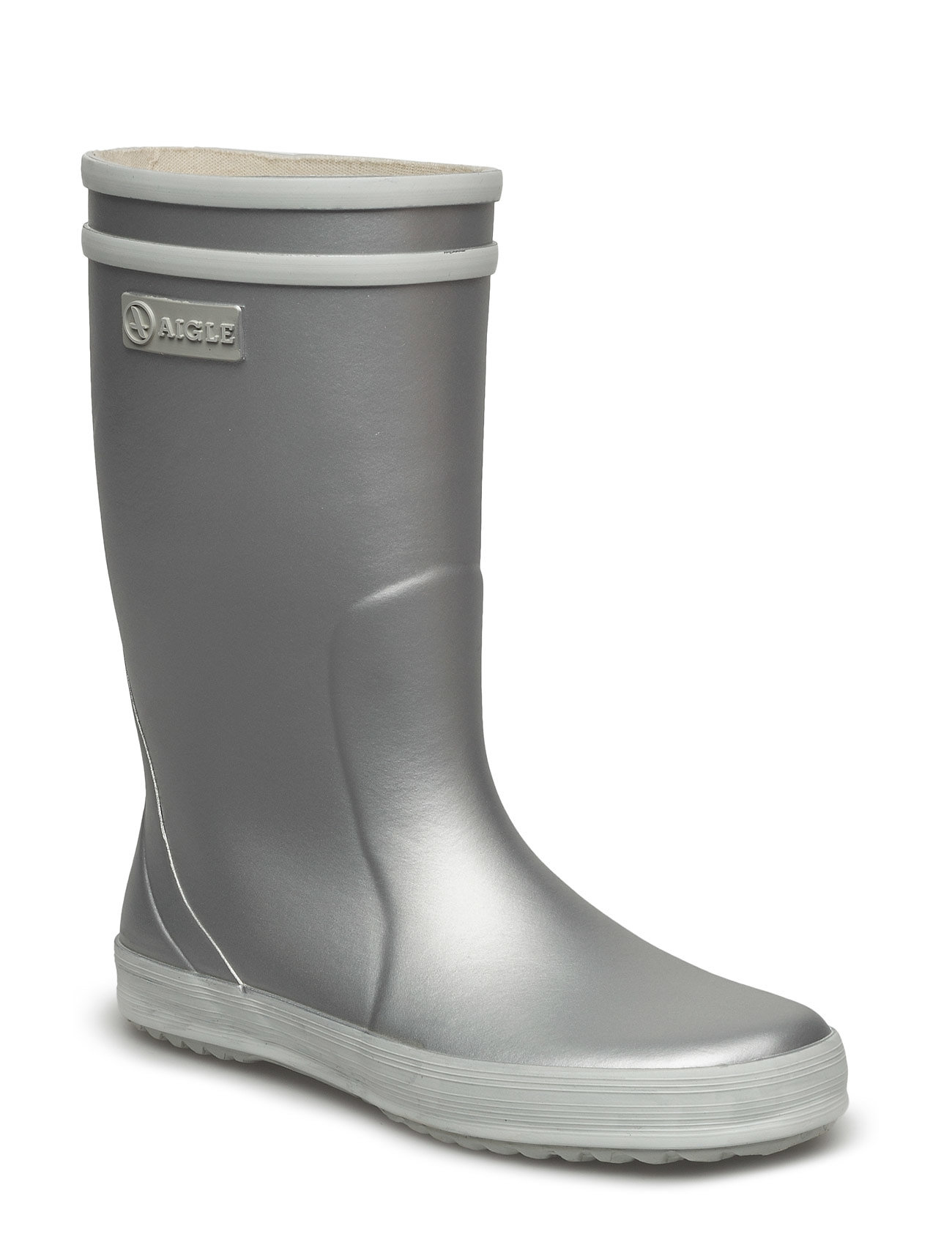 Lolly Pop Silver Aigle Wellies