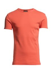 T-SHIRT - RIB O-NECK - Spicy