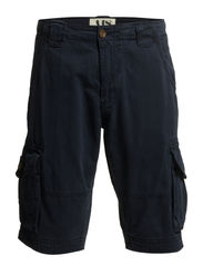 CARGO SHORTS - SOLID COLOUR - Night blue
