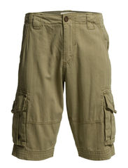 CARGO SHORTS - SOLID COLOUR - Sand