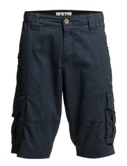 CARGO SHORTS - CHECK - Night blue