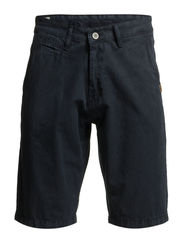CHINO SHORTS - SOLID COLOUR - Night blue