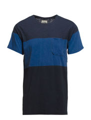 T-SHIRT - STRIPE - Indigo