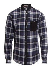 SHIRT - FLANNEL CHECK - Black