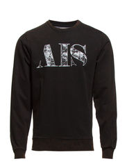 SWEAT W. AIS LOGO - Black