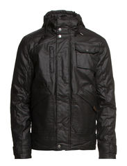 JACKET - WITH HOOD - Black