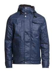 JACKET - WITH HOOD - Indigo