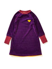 Doll School Dress - Purple