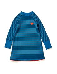 Doll School Dress - Blue