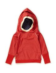 Damian Hood Blouse - Red