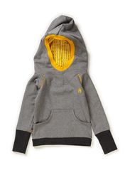 Damian Hood Blouse - Grey