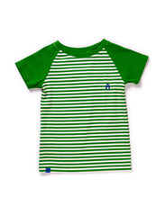 Elas T-shirt - Green Striped