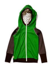 Einei Zipper Hood - Green