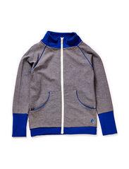 Esse Zipper Cardigan - Grey