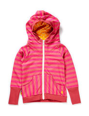 Eamian Zipper Hood - Rose/Pink