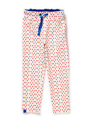 Eya Pants - Blue/Red