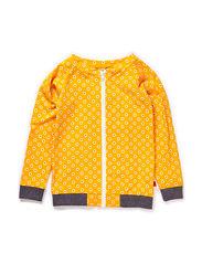 Ester Zipper Bomber - Yellow