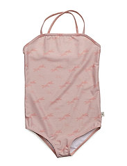 Grazia UV50+ Swim suit - DUSTY ROSE BIRD
