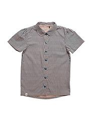 Isolde T-Shirt - LYONS BLUE SPLIT STRIPED