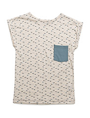 Mads T-shirt - ANTIQUE WHITE TRIANGLE