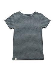Gate T-shirt - BLUESTONE STRIPED