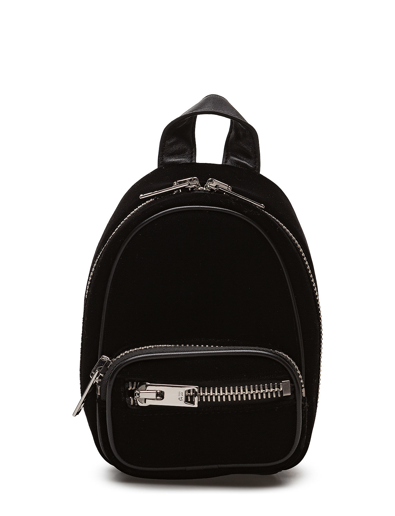 alexander wang – Attica soft mini bkpk black hvy silky velvet/ir fra boozt.com dk