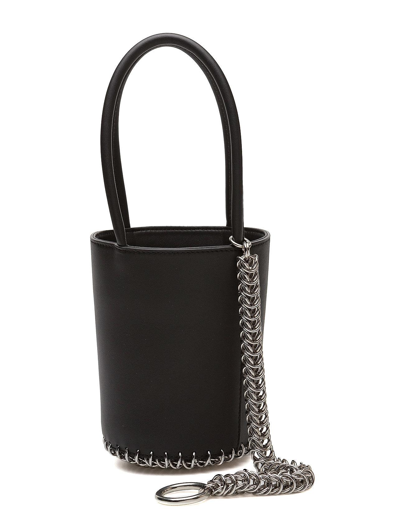Roxy mini bucket blk w/boxchn smooth shiny calf/ir fra alexander wang på boozt.com dk