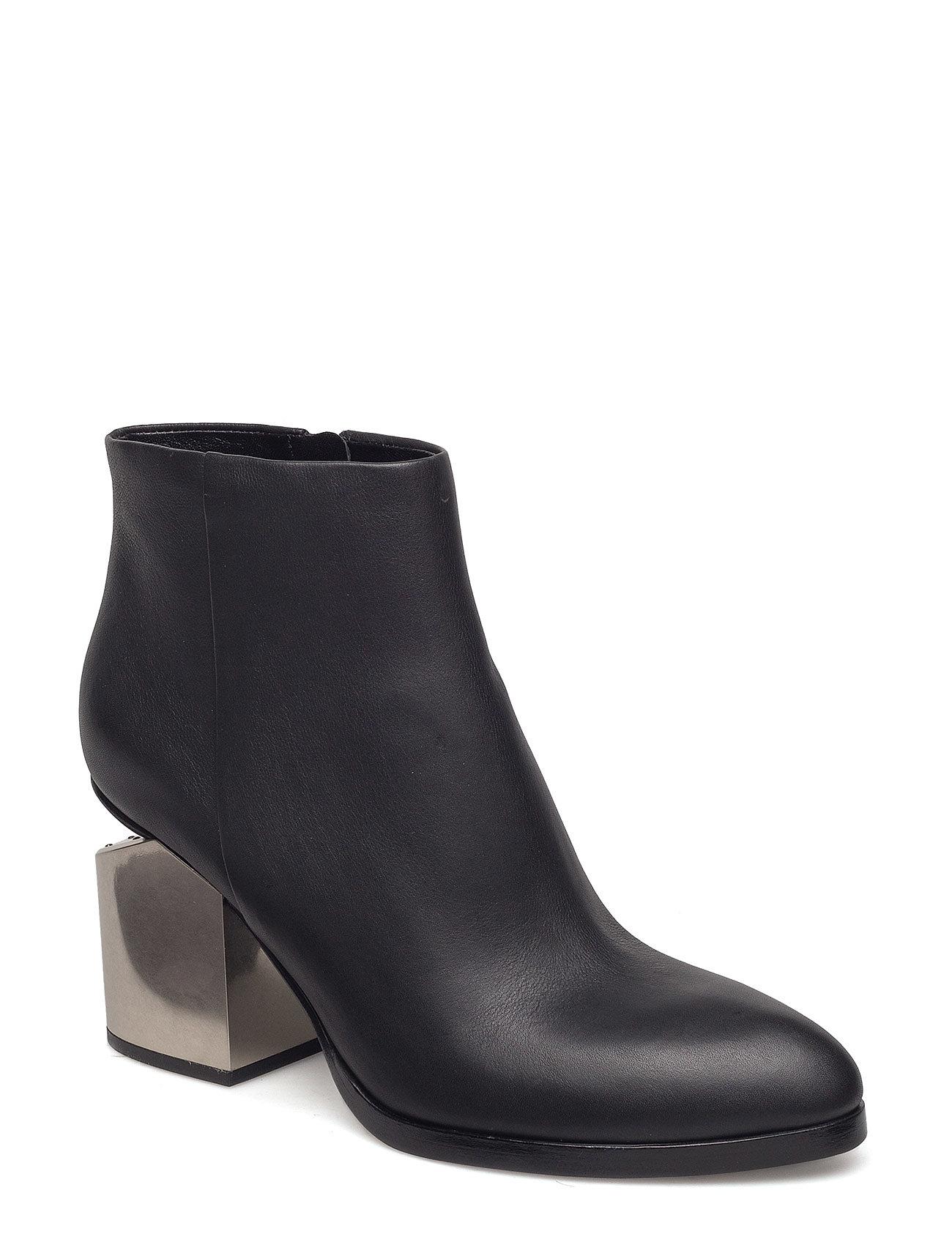 Gabi black tumbled calf/silver metal heel fra alexander wang på boozt.com dk