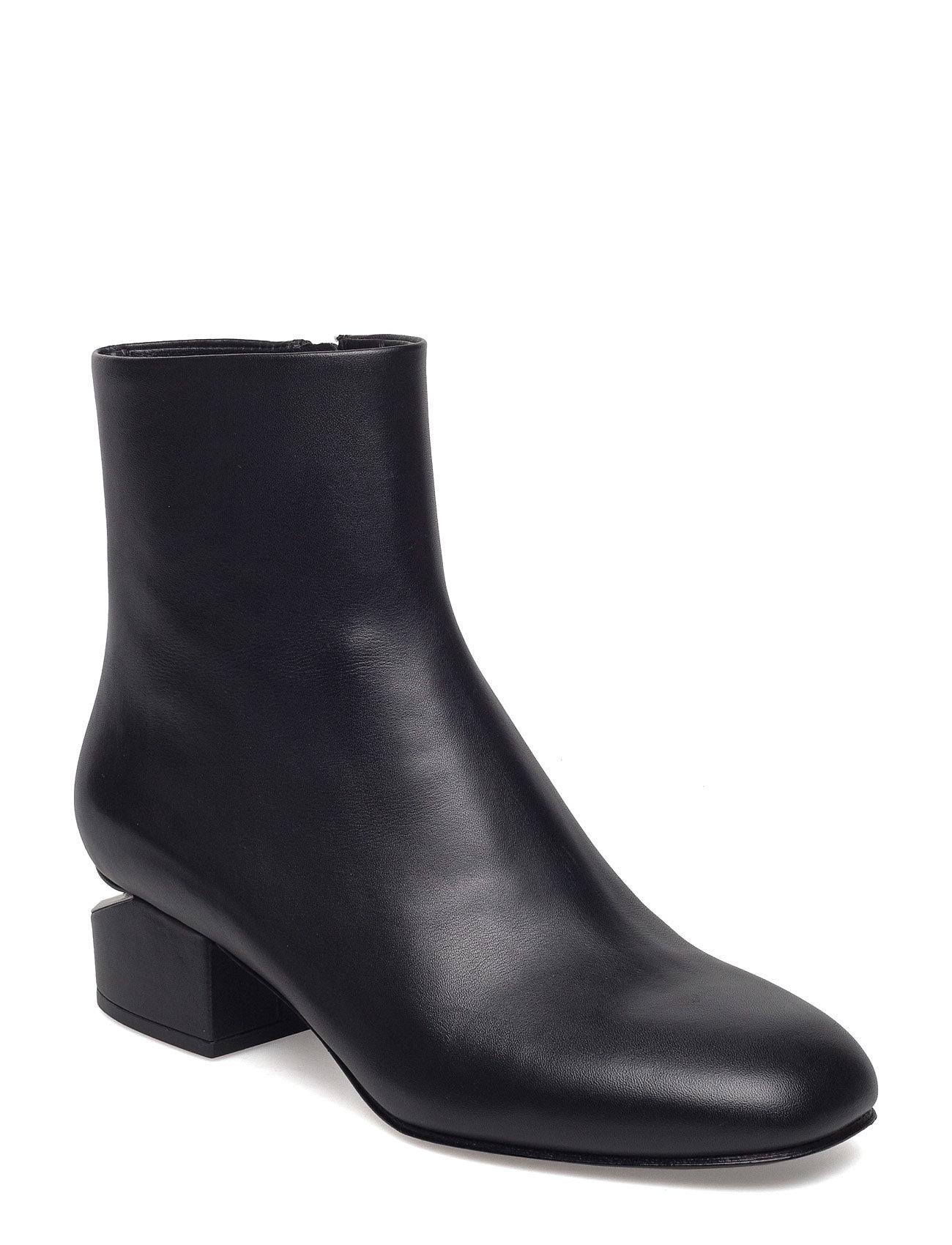 alexander wang – Kelly black soft calf/rhodium fra boozt.com dk
