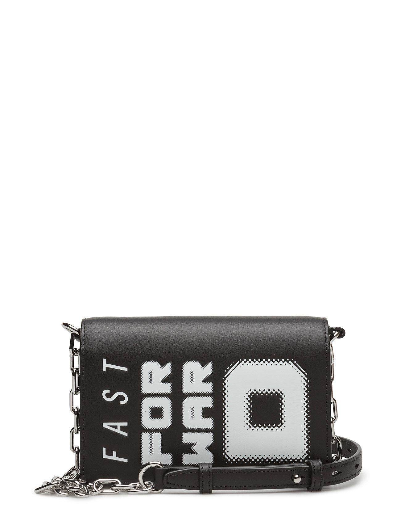 alexander wang – Attica chn biker purse blk w/ffwd smooth calf/ir fra boozt.com dk