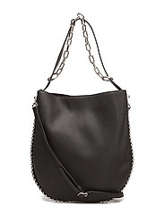 ROXY HOBO BLACK REFINED PEBBLE CALF/IR - BLACK