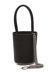 ROXY MINI BUCKET BLK W/BOXCHN SMOOTH SHINY CALF/IR - BLACK