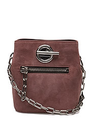 RIOT CROSSBODY MAUVE/BLACK SOFT PEBBLE LTHR/IR - MAUVE MULTI