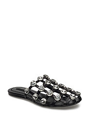 Alexander Wang JEWELED AMELIA BLACK SOFTCALF