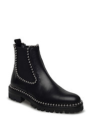 SPENCER BLACK CALF - BLACK