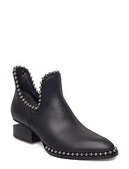 KORI CUT OUT BLACK CALF - BLACK
