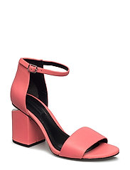 ABBY FLUO CORAL NAPPA/RHODIUM - FLUO CORAL