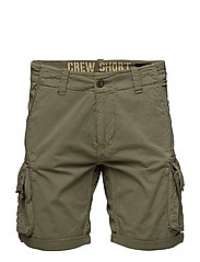 Crew Short - LIGHT OLIVE