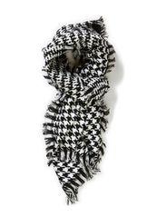 Sofus scarf - Black/white