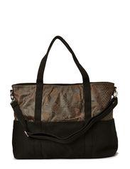 Miami bag - Black/brown snake