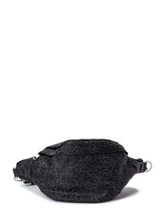 Canvas bum bag - Black animal