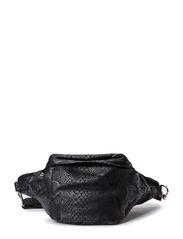 Canvas bum bag - Black snake