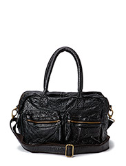 Washed big bag - Black