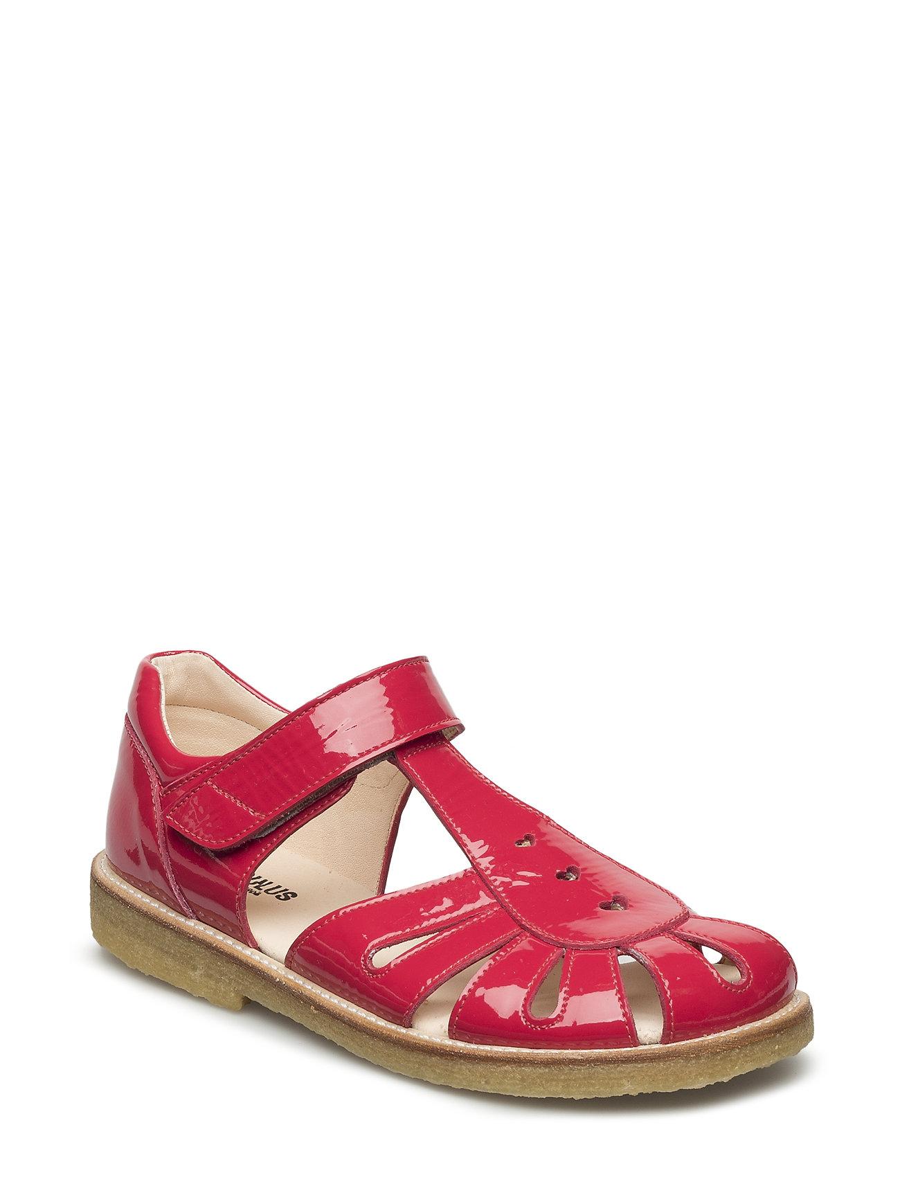 Sandal With Harts And Velcro Closure ANGULUS Sandaler til Børn i 1387 Rose