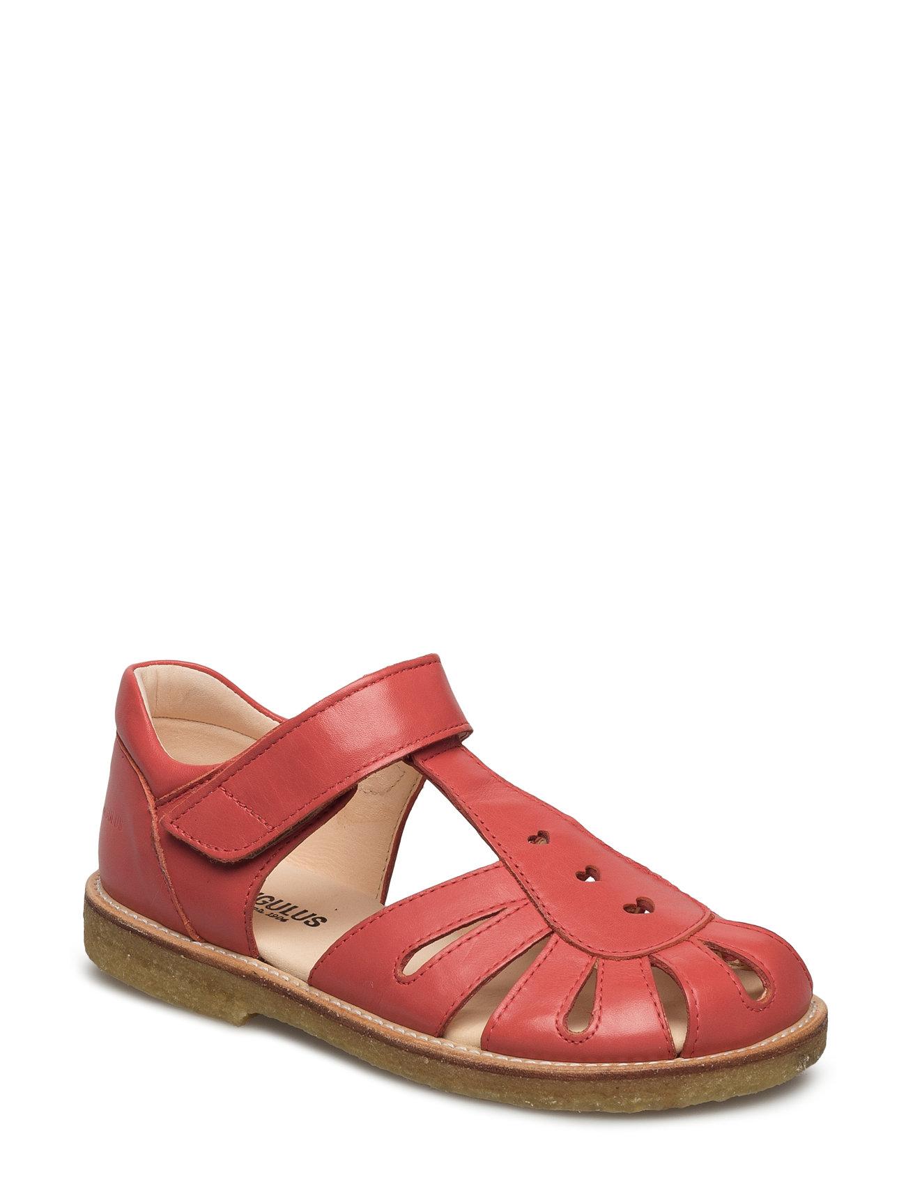 Sandal With Harts And Velcro Closure ANGULUS Sandaler til Børn i