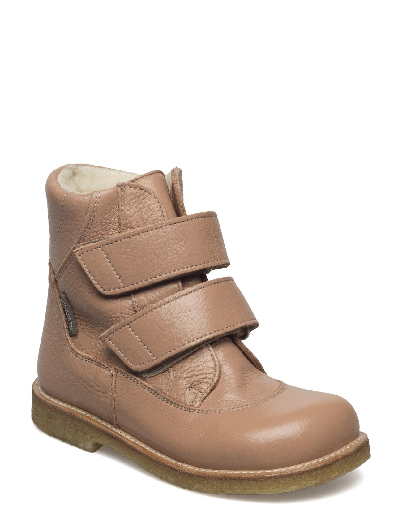 Boots - Flat - With Velcro ANGULUS Sko til Børn i