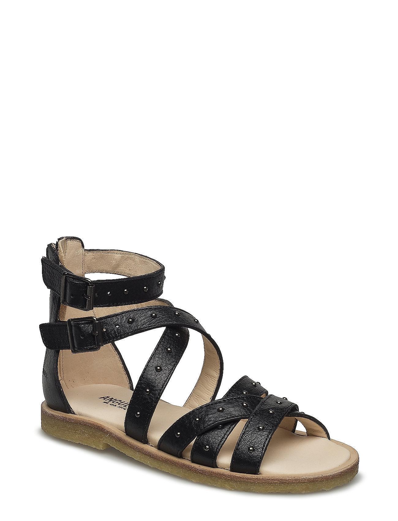 Sandal Med Studs And Zipper ANGULUS Sko til Piger i