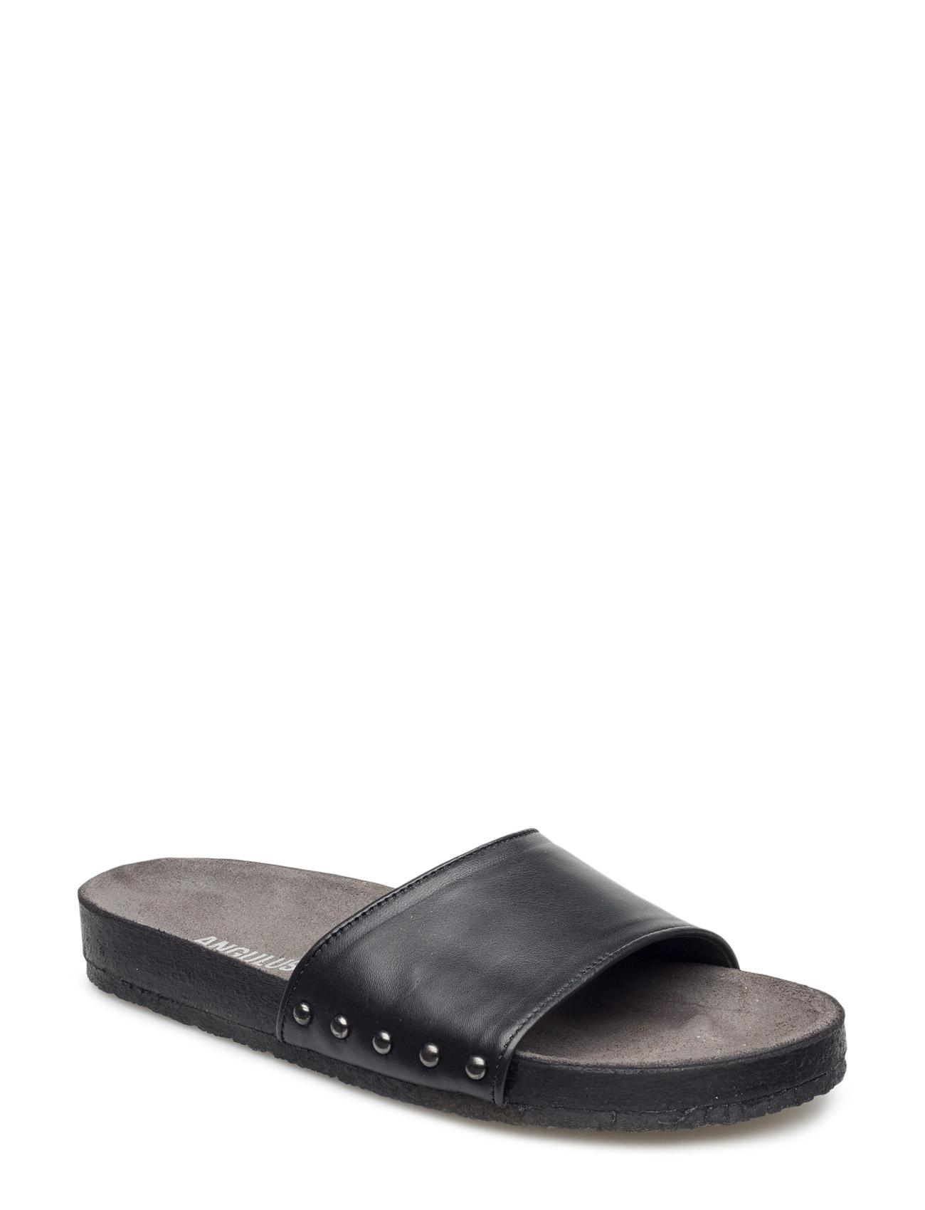 Sandals- Flat  - Open Toe - Open Counter ANGULUS Sandaler til Kvinder i 1316 Champagne