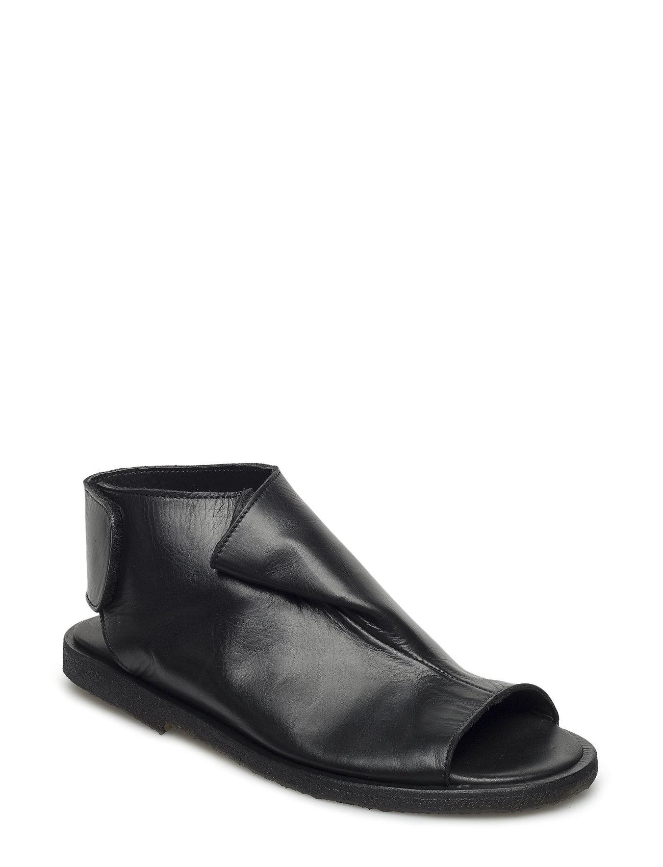 Draped Sandal With Velcro Closure ANGULUS Sandaler til Damer i